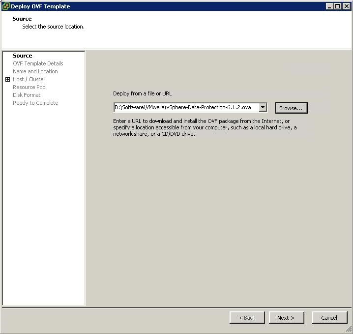 Step By Step installation guide for Vmware VDP - VMware Diary